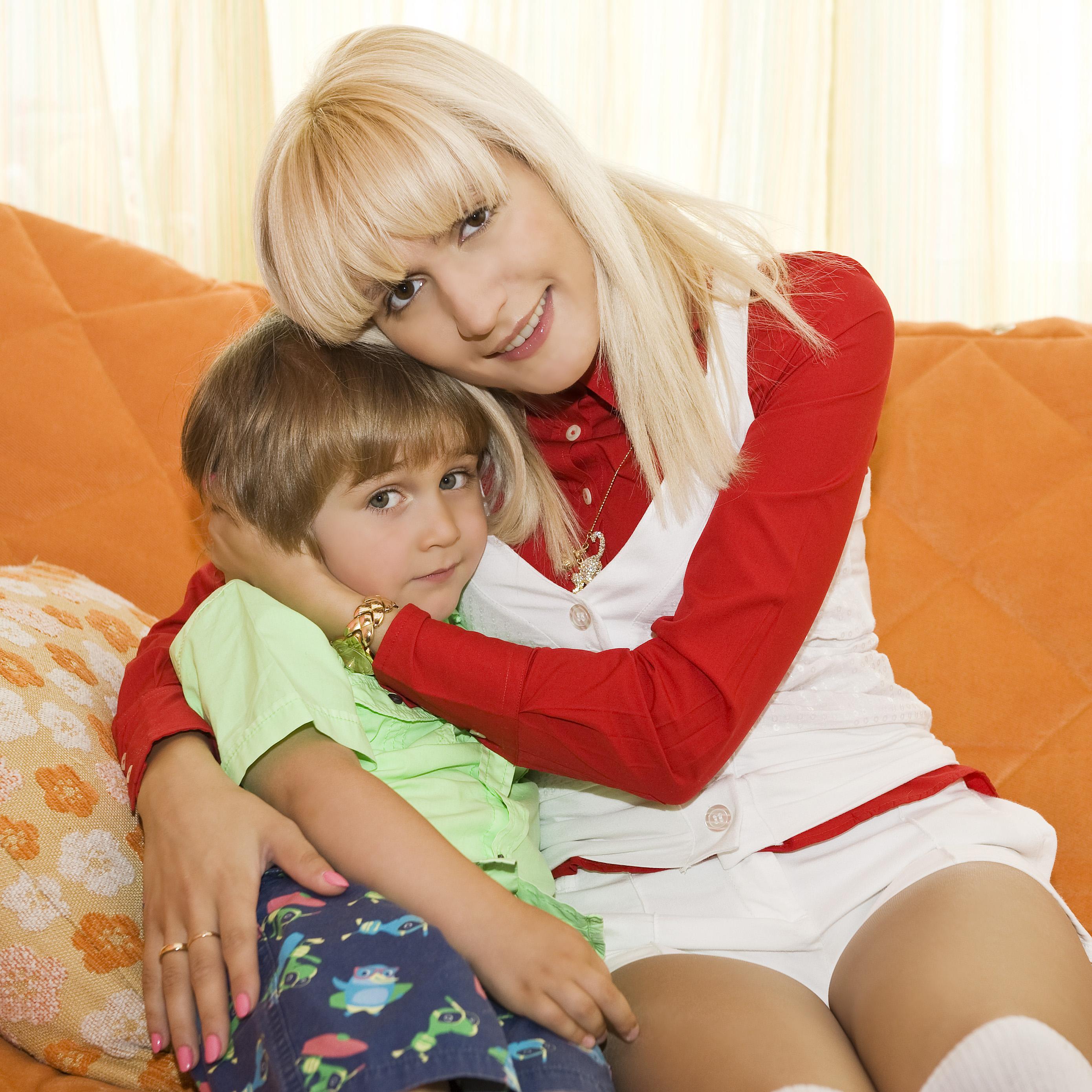 Женя тополь с сыном